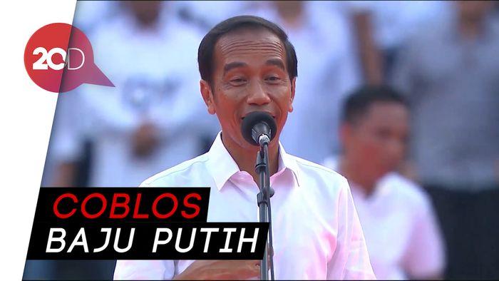 Jokowi: 17 April Datang Ke TPS Pakai Baju Putih