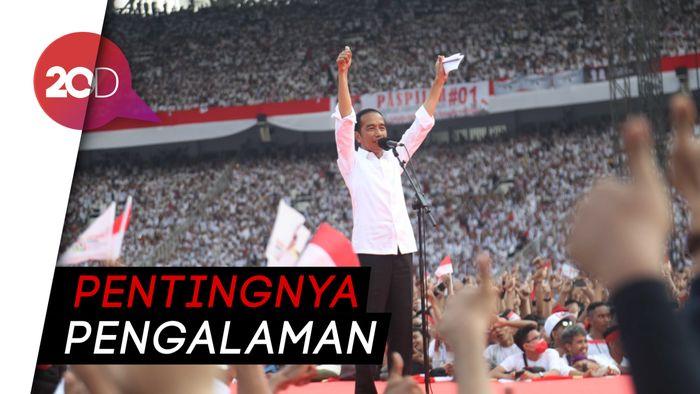 Jokowi Bicara Rekam Jejak: Saya Tak Punya Beban Masa Lalu