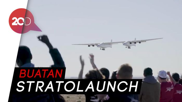 Pesawat Raksasa Besutan Pendiri Microsoft Akhirnya Terbang