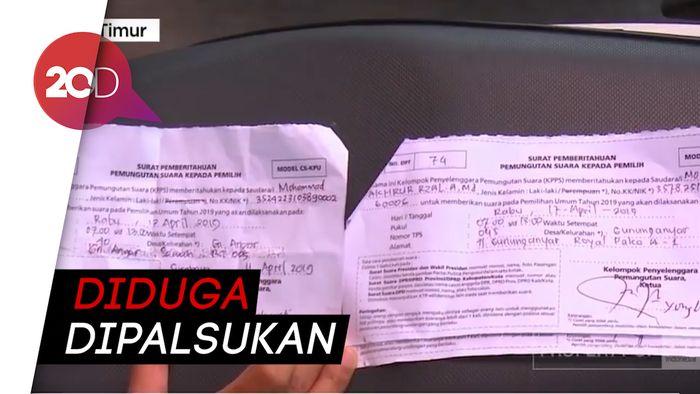 Masa Tenang Pemilu, Ditemukan Dugaan DPT Ganda di Surabaya