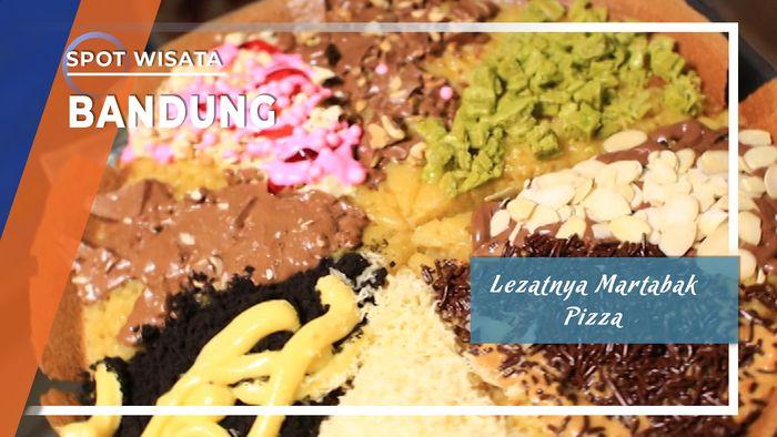 Lezatnya Martabak Pizza Bandung