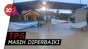 Diguyur Hujan Deras, 3 TPS di Kota Jambi Kebanjiran