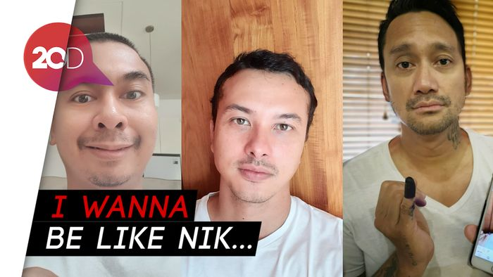 Tora Sudiro dan Raditya Dika Parodikan Selfie ala Nicholas Saputra