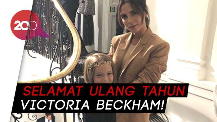 Ucapan Ultah Romantis dari David Beckham untuk Victoria