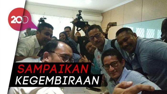Ngevlog Bareng Tim BPN, Sandiaga: Perjuangan Belum Selesai