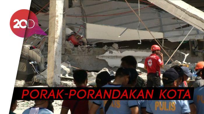 Video Evakuasi Korban Gempa di Filipina