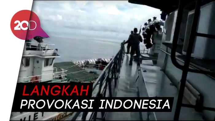 Kapal Vietnam Tabrak KRI Tjiptadi-381 di Laut Natuna Utara
