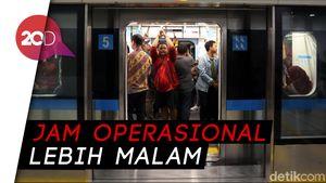 Catat! Besok Jadwal MRT Jakarta Mulai Berubah