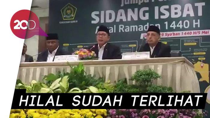 Pemerintah Tetapkan 1 Ramadhan 1440 H Senin 6 Mei 2019