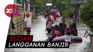 3 Jam Diguyur Hujan, Banjir Rendam di Pangkalpinang