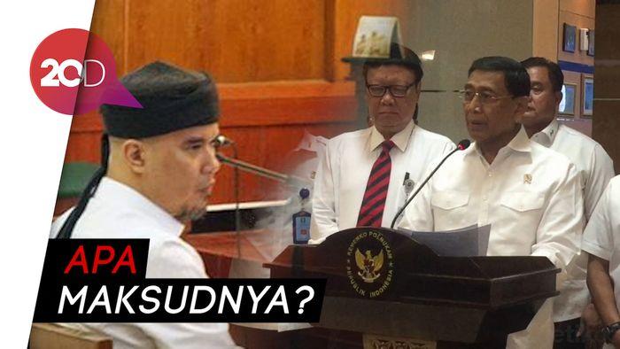 Ahmad Dhani Teriak sebelum Sidang: Jangan Takut Ancaman Wiranto!