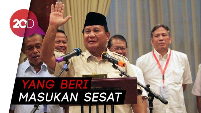 Respons Prabowo soal Setan Gundul yang Dicuitkan Andi Arief