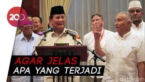 Prabowo Minta KPPS Meninggal Diusut: Perlu Ada Visum