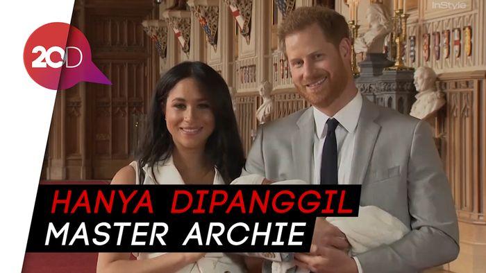 Putra Meghan Markle dan Pangeran Harry Tak Pakai Gelar Kerajaan