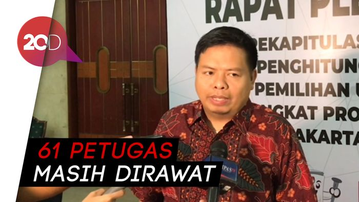 Hingga Saat Ini, Ada 9 Petugas KPPS DKI Jakarta yang Meninggal