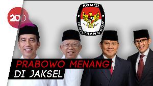 Rekapitulasi Pilpres DKI Jakarta: Jokowi Masih Unggul