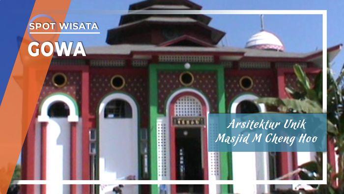 Arsitektur Unik Masjid Muhammad Cheng Ho, Gowa Sulawesi Selatan
