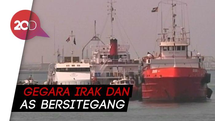 Dua Kapal Tanker Saudi Disabotase