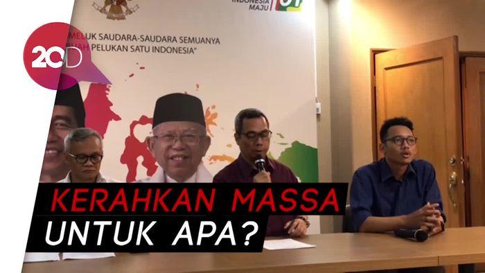 TKN akan Kerahkan Massa pada 22 Mei, Tapi Bukan ke KPU
