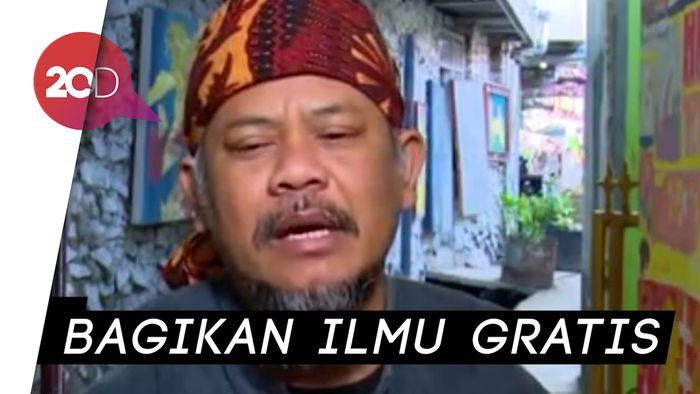 Ini Sosok Inspiratif Penyulap Kampung Kumuh Jadi Wisata di Bandung