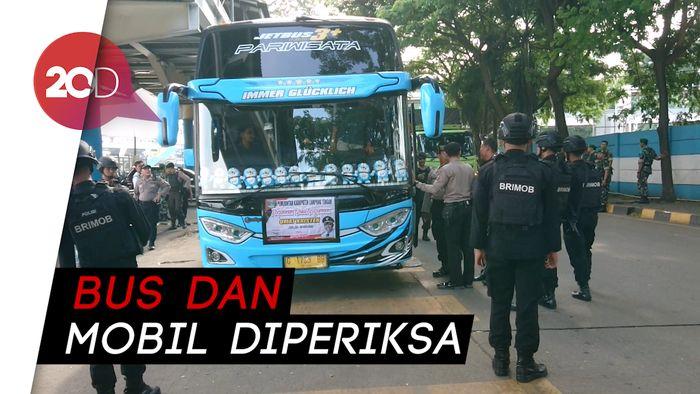 Antisipasi Aksi 22 Mei, Penumpang di Pelabuhan Merak Dirazia