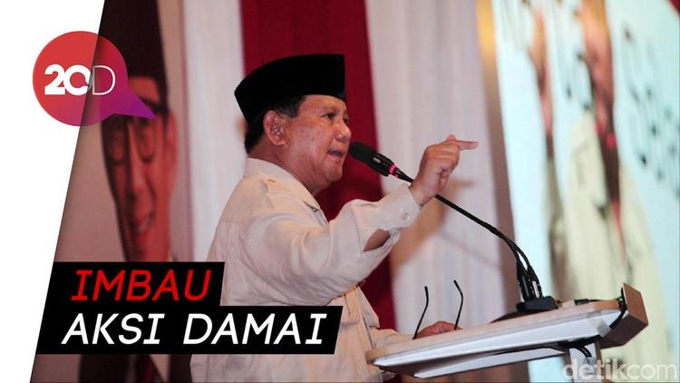 Jika Aksi 22 Mei Rusuh, Prabowo: Bukan Pendukung Kami