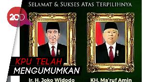 Jokowi-Ma'ruf Amin Menang, Cinta Laura hingga Addie MS Ucapkan Selamat