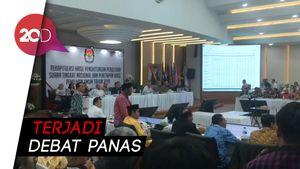 Rapat Rekapitulasi Hasil Pileg Provinsi Papua Sempat Memanas!