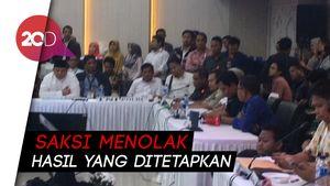 Saksi Kubu Prabowo Tolak Tanda Tangani BAP Rekapitulasi Pemilu!