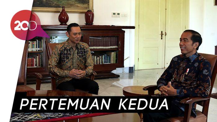 AHY Bertemu Jokowi (Lagi), Bahas Apa?