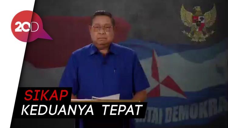 Pujian SBY untuk Jokowi dan Prabowo