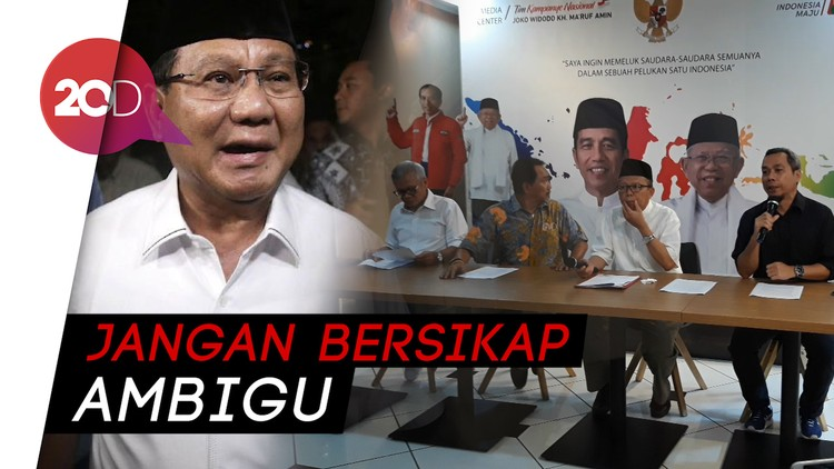 Soal Kerusuhan 22 Mei, TKN Minta Prabowo Tanggung Jawab!