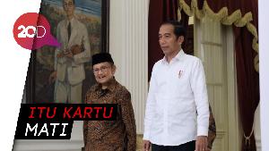 Jokowi-Habibie Sepakat Persatuan Tak Ada Tawar-menawar