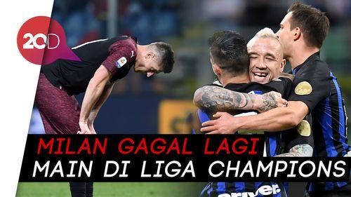 Sorry Milan, Inter yang Lolos Liga Champions Musim Depan