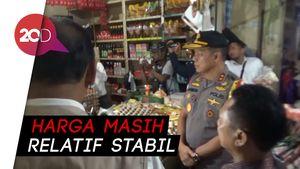 Polda Sulsel Sidak ke Pasar Pabaeng-baeng, Cek Harga Pangan