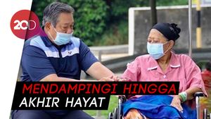Melihat Kembali Bentuk Cinta SBY Untuk Ani Yudhoyono