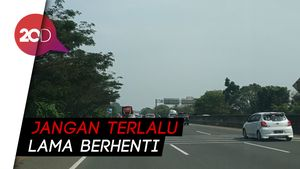 Antisipasi Macet, Rest Area Cikampek Arah Jakarta Akan Dibuka-tutup