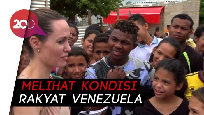 Angelina Jolie Kunjungi Perbatasan Venezuela-Kolombia