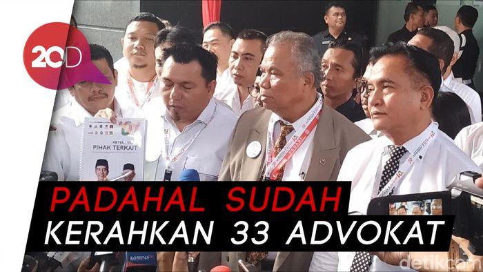 Erick Thohir dan 9 Sekjen Parpol Jadi Pendamping Tim Hukum Jokowi di MK