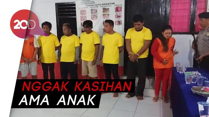 Komplotan Pencuri Sapi di Sulut  Dibekuk, Satu Pelaku Ibu Hamil