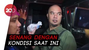 Suara Hati Ahmad Dhani Tak Bisa Lebaran di Jakarta