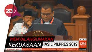 Gugatan Tim Prabowo di MK: Jokowi Abuse of Power