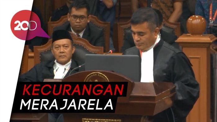 Tim Hukum Prabowo Singgung Suara Prabowo 0 di 5.268 TPS