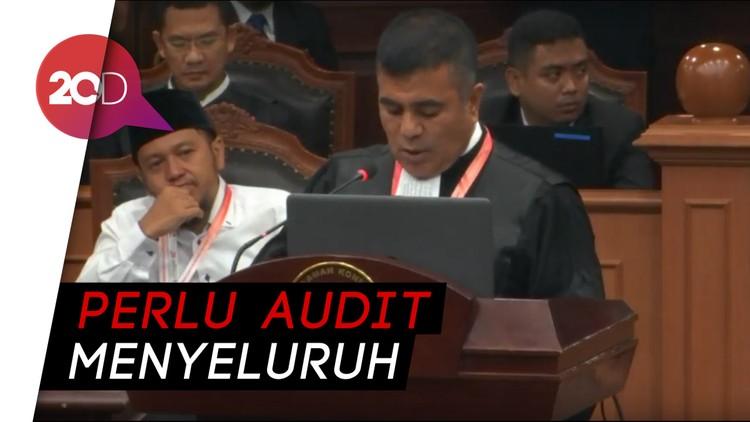 Tim Hukum Prabowo-Sandi: Situng KPU Kacau