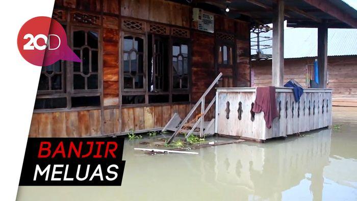 Banjir 3 Meter Rendam 5 Kecamatan di Sidrap Sulsel