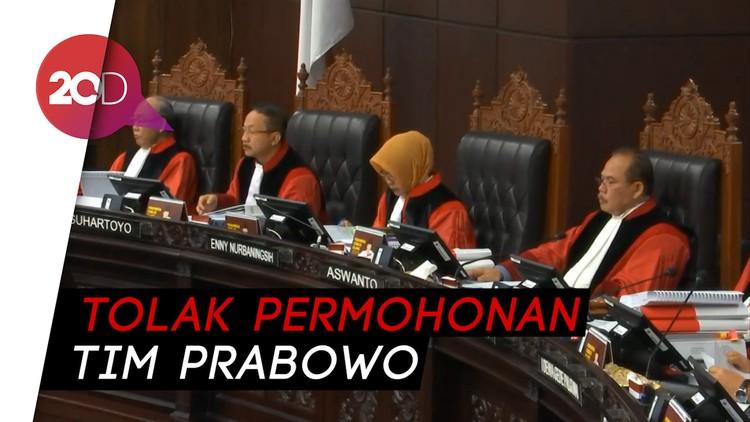 KPU Minta MK Tolak Tuntutan Tim Prabowo soal Perlindungan Saksi