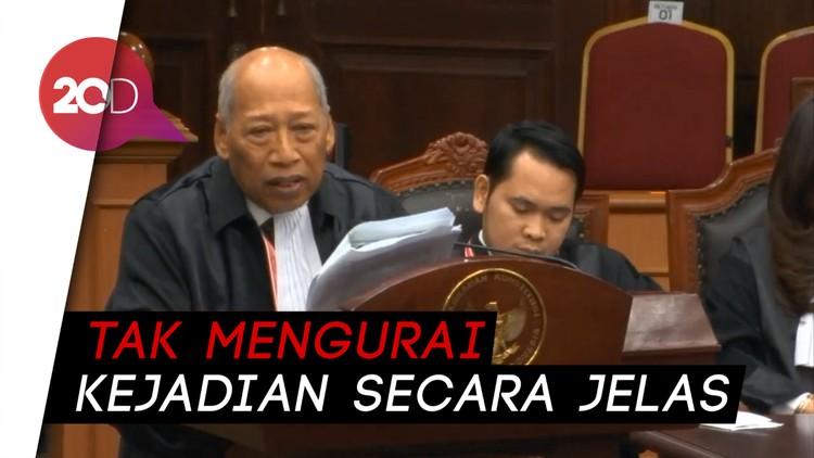 Tim Jokowi Sebut Dalil-dalil Kubu 02 Asumtif dan Tendensius