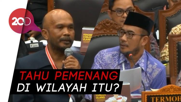 Hakim MK Mengulik Saksi soal Keamanan Situng KPU