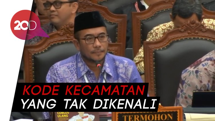 KPU Pertanyakan Kecamatan Siluman ke Saksi Prabowo