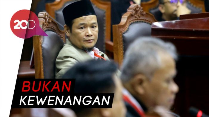 Saksi Prabowo Salahkan Jubir Jokowi Soal DP4, Ditegur Hakim MK